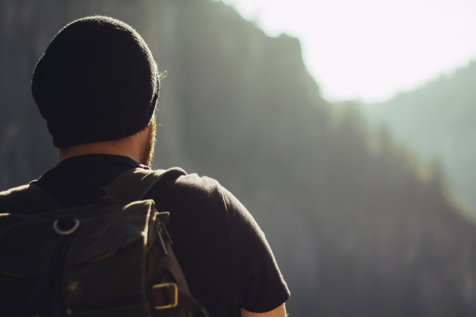 Rucksack-Wandern