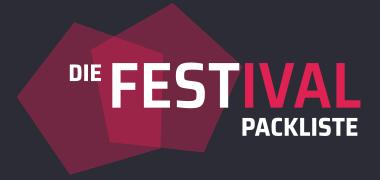 Die Festival Packliste